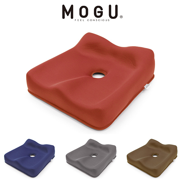 【MOGU】 スワッテ瞬間美姿勢フィット(H&B) クッション ビーズクッション チェアクッション 椅子 チェア モグ もぐ(代引不可)