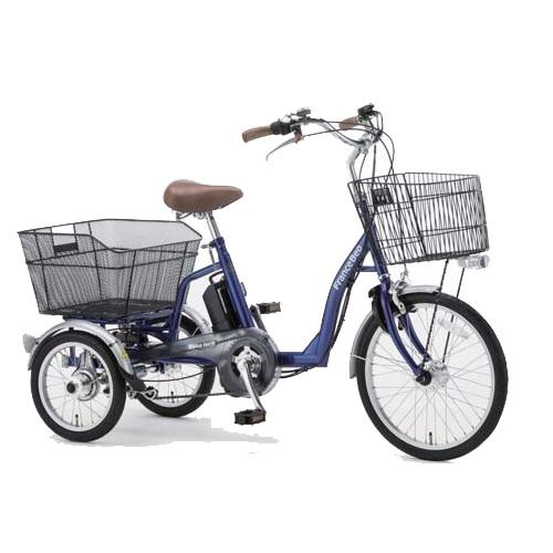 フランスベッド 電動アシスト三輪自転車 ブルー ASU-3WT3 電動 自転車(代引不可)【送料無料】