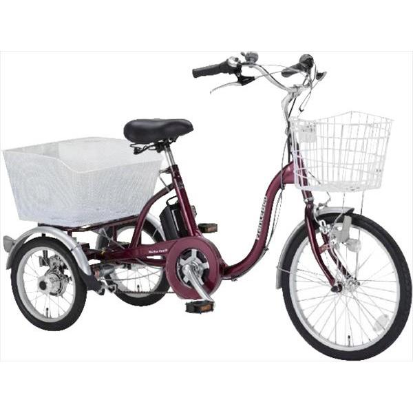 フランスベッド 電動アシスト三輪自転車 エンジ ASU-3W01 電動 自転車(代引不可)【送料無料】