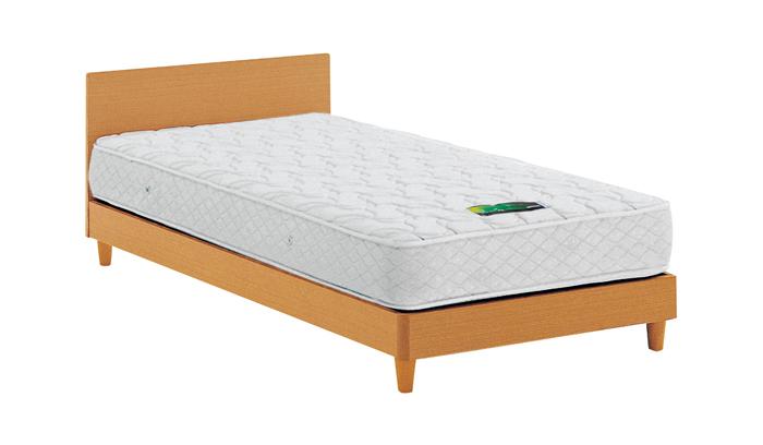 ASLEEP アスリープ ベッドフレーム セミダブルロングサイズ チボー FYAP37DC ナチュラル 脚付き アイシン精機 ベッド(代引不可)【送料無料】