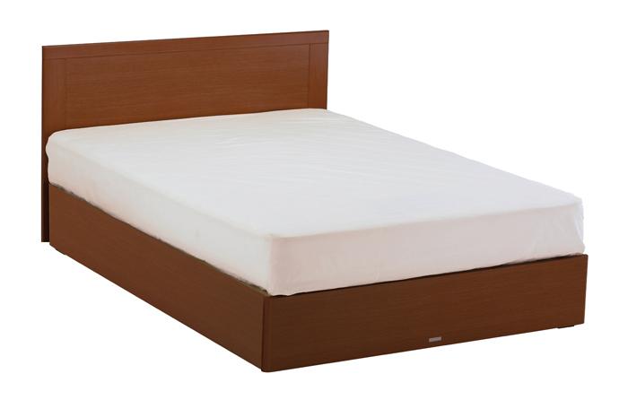 ASLEEP アスリープ ベッドフレーム ダブルサイズ マリン FY15G3DC ミディアムブラウン 引出し無し アイシン精機 ベッド(代引不可)【送料無料】