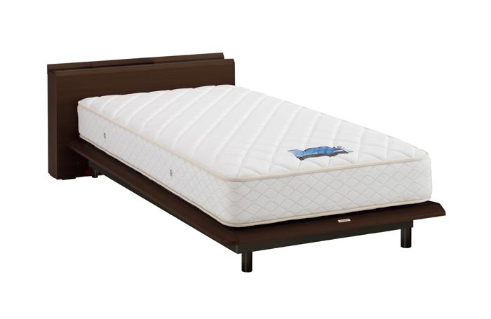 ASLEEP アスリープ ベッドフレーム キングサイズ テーベ FY621BEC ダークブラウン 脚付き アイシン精機 ベッド(代引不可)【送料無料】