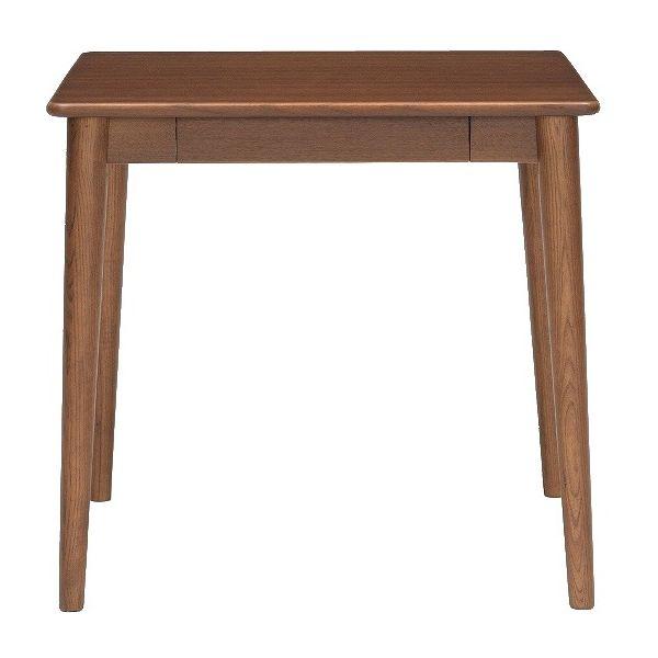 ミキモク ダイニングテーブル サライ ブラウン 75x70cm DT-70398 TBR(代引不可)【送料無料】【int_d11】