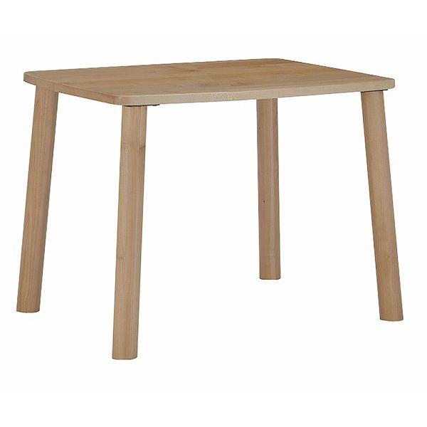 ミキモク ダイニングテーブル 楓の森 ナチュラル 角丸タイプ 80×80cm KMT-810 KML-744 KNA(代引不可)【送料無料】【int_d11】