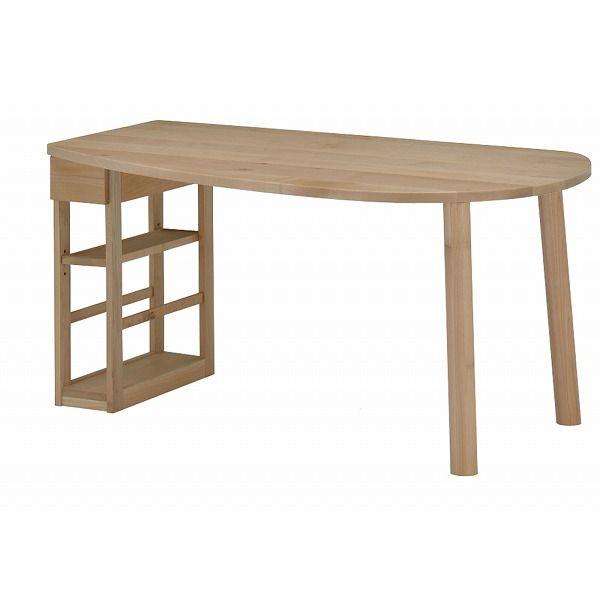 ミキモク ダイニングテーブル 楓の森 ナチュラル 150×85cm KMLT-1530R KMLB-30 KNA KML-742 KNA(代引不可)【送料無料】【int_d11】