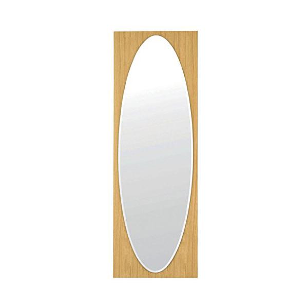 塩川光明堂 国産 ウォールミラー HCL-125 NA ナチュラル ミラー 鏡(代引不可)【送料無料】