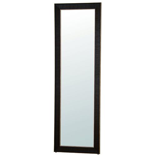 塩川光明堂 スーパーミラー ロベルト 580 BK 立掛け式 ブラック ミラー 鏡(代引不可)【送料無料】