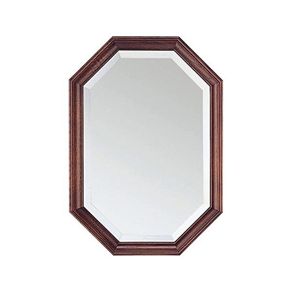 塩川光明堂 国産 ウォールミラー H3550 DB ダークブラウン ミラー 鏡(代引不可)【送料無料】