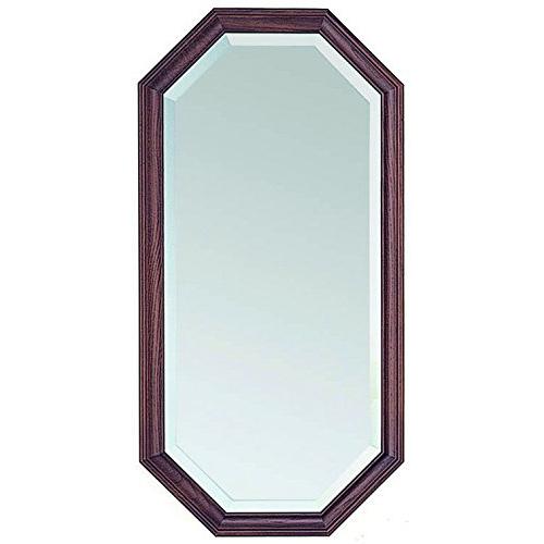 塩川光明堂 国産 ウォールミラー H3570 DB ダークブラウン ミラー 鏡(代引不可)【送料無料】
