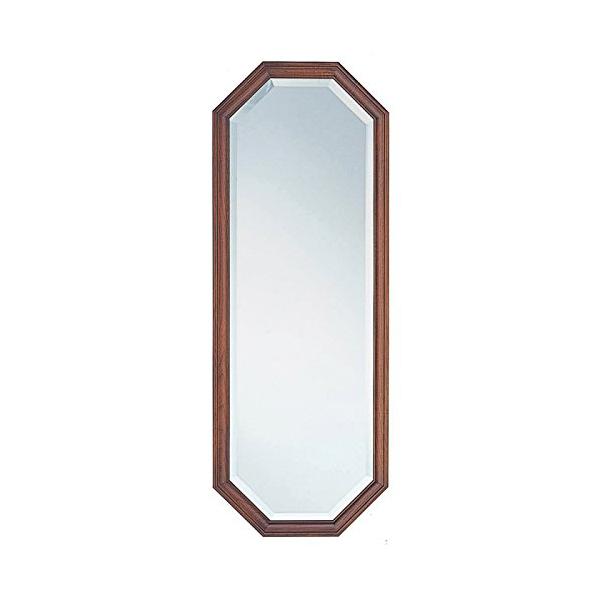 塩川光明堂 国産 ウォールミラー H3595 DB ダークブラウン ミラー 鏡(代引不可)【送料無料】