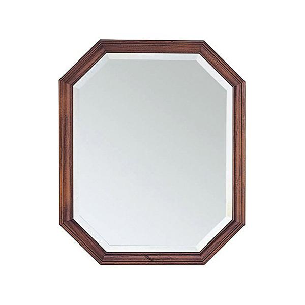 塩川光明堂 国産 ウォールミラー H4555 DB ダークブラウン ミラー 鏡(代引不可)【送料無料】