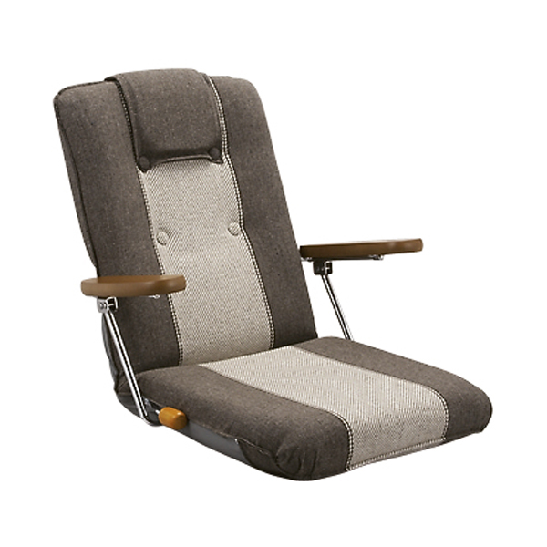 レバー式座椅子 YS-1075A 座椅子【】:リコメン堂