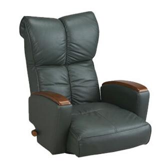 本革座椅子 風雅 YS-P1370HR 本革張り 肘付 回転 座イス(代引不可)【送料無料】