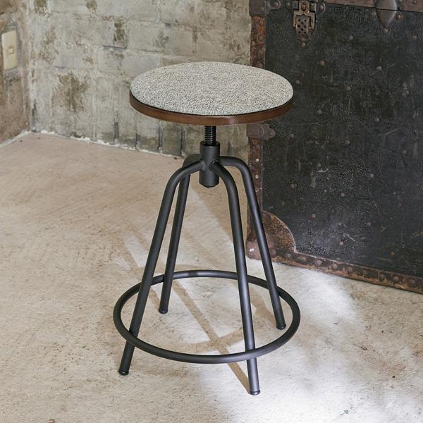 昇降スツール Medio(メディオ) スツール カウンターチェア 椅子 いす(代引不可)【送料無料】