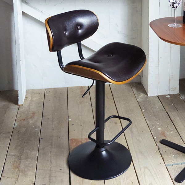 バーチェア roton(ロトン) カウンターチェア チェア 椅子 いす(代引不可)【送料無料】
