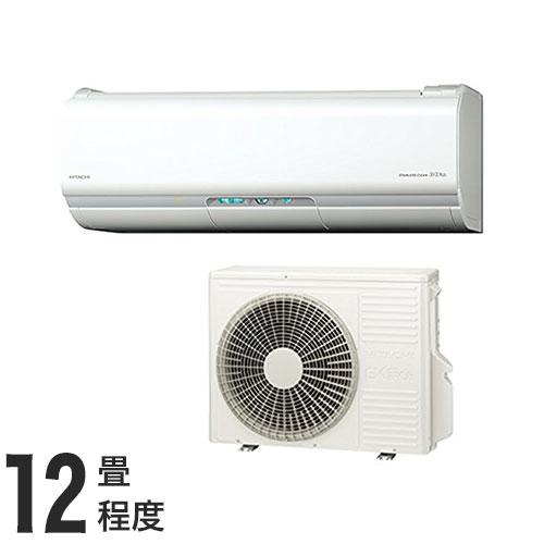日立 ルームエアコン XJシリーズ おもに12畳 RAS-XJ36H (設置工事不可)(代引不可)【送料無料】