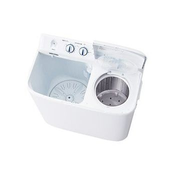 ハイアール 二槽式洗濯機 5.5kg JW-W55E-W(代引不可)【送料無料】