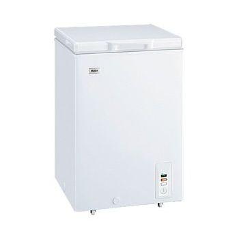ハイアール チェスト式冷凍庫 103L JF-NC103F-W 上開き(代引不可)【送料無料】