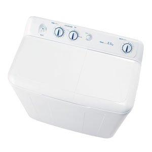 ハイアール 二槽式洗濯機 6.5kg JW-W65E-W ホワイト(代引不可)【送料無料】