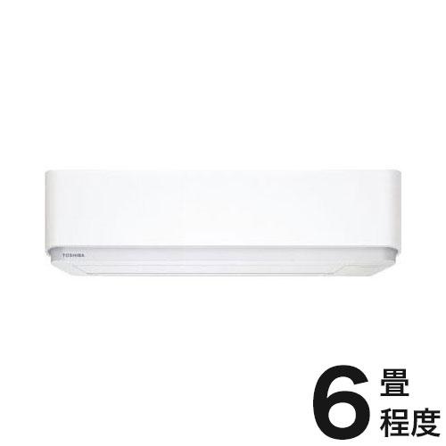 東芝 ルームエアコン E-Pシリーズ おもに6畳 RAS-E225P-W (設置工事不可)(代引不可)【送料無料】