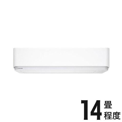 東芝 ルームエアコン E-Pシリーズ おもに14畳 RAS-E405P-W (設置工事不可)(代引不可)【送料無料】