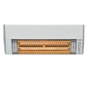 コロナ 遠赤外線ヒーター DHK-C1216A-W ホワイト 壁掛型 電気ストーブ【送料無料】