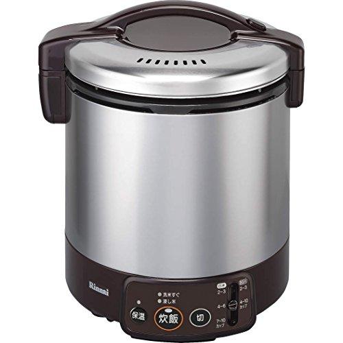 リンナイ ガス炊飯器 こがまる RR-100VM(DB) 13A 【都市ガス】 1升炊き(代引不可)【送料無料】