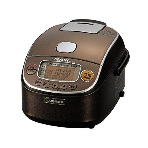 象印 圧力IH炊飯ジャー 極め炊き 3合 NP-RL05-TA ブラウン 炊飯器【送料無料】
