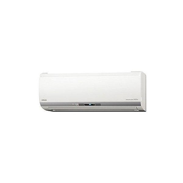 日立 ルームエアコン Eシリーズ おもに8畳 RAS-E25H-W(代引不可)【送料無料】【S1】