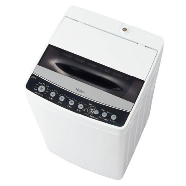 ハイアール 全自動洗濯機 4.5kg 風乾燥機能付 JW-C45D-K(代引不可)【送料無料】【S1】