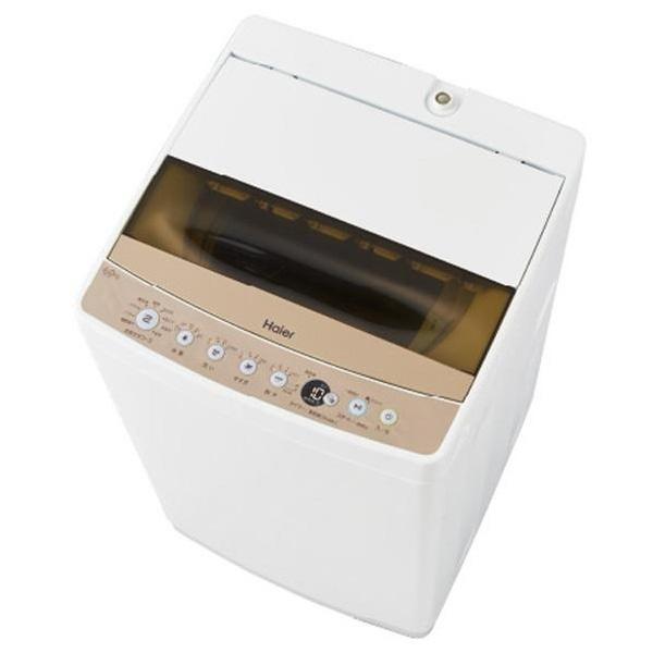ハイアール 全自動洗濯機 6.0kg 風乾燥機能付 JW-C60C-W(代引不可)【送料無料】【S1】