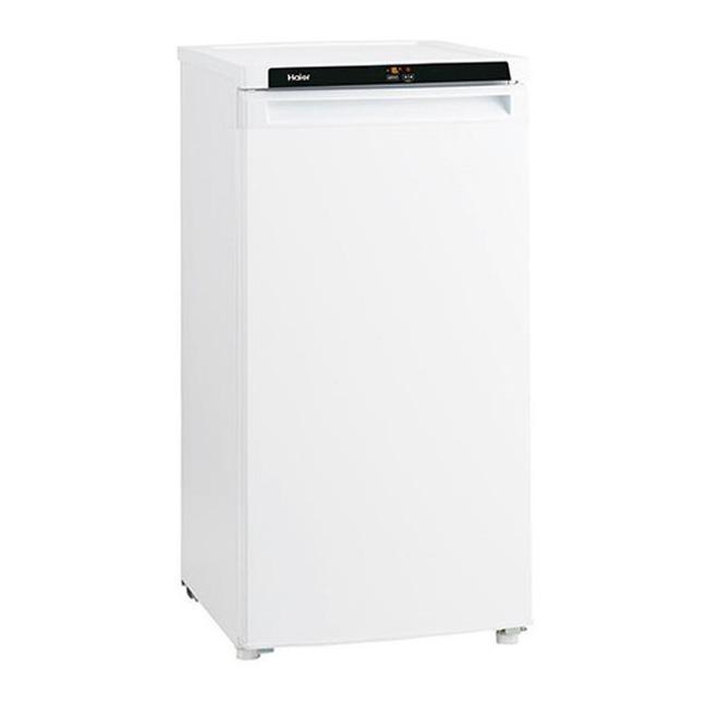 ハイアール 冷凍庫 102L 前開式 JF-NU102B-W(代引不可)【送料無料】【S1】