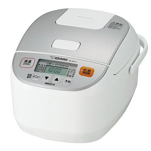象印 マイコン炊飯器 極め炊き 5.5合 NL-DA10-WA ホワイト 炊飯ジャー【送料無料】【S1】