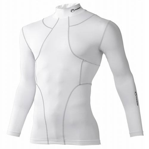 皮膚感覚 YS オールインワン ロングスリーブシャツ [男女兼用] #400700 (日本製) ホワイト(Lサイズ)/6点入り(代引き不可)