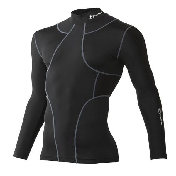 皮膚感覚 TX2 オールインワン ロングスリーブシャツ [男女兼用] #400405 (日本製) ブラック(LLサイズ)/6点入り(代引き不可)