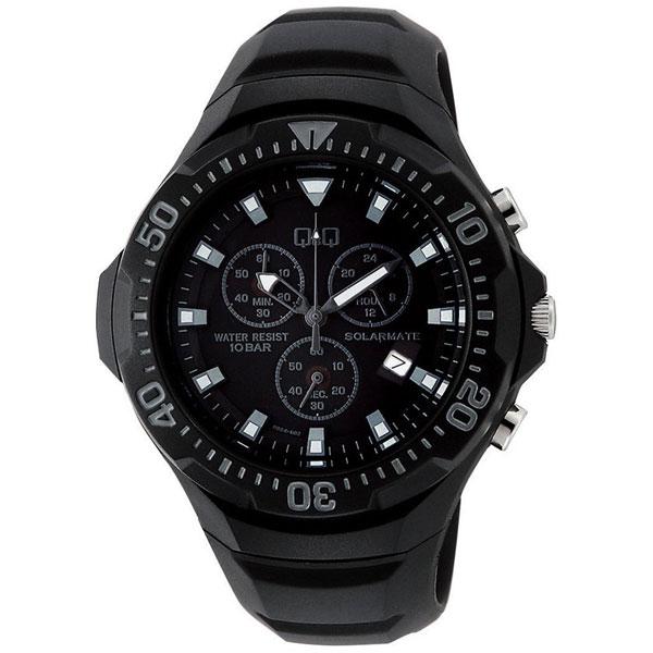 【CITIZEN】シチズン Q&Q ソーラー電源 メンズ腕時計H034-002 SOLARMATE (ソーラーメイト) /1点入り(代引き不可)