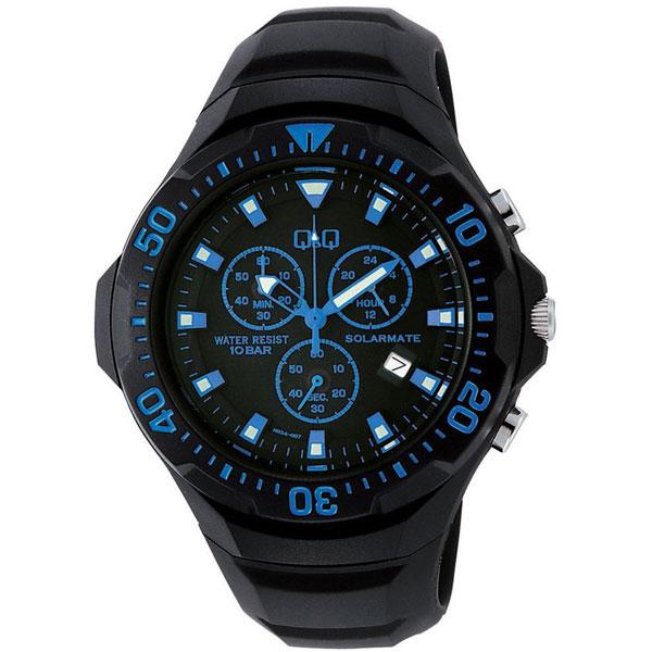 【CITIZEN】シチズン Q&Q ソーラー電源 メンズ腕時計H034-004 SOLARMATE (ソーラーメイト) /5点入り(代引き不可)