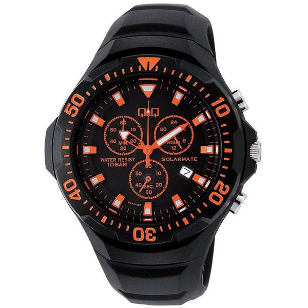 【CITIZEN】シチズン Q&Q ソーラー電源 メンズ腕時計H034-005 SOLARMATE (ソーラーメイト) /10点入り(代引き不可)
