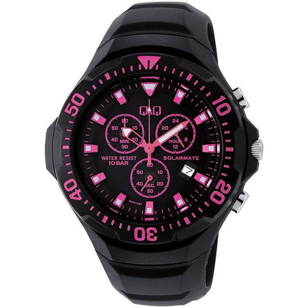 【CITIZEN】シチズン Q&Q ソーラー電源 メンズ腕時計H034-007 SOLARMATE (ソーラーメイト) /5点入り(代引き不可)
