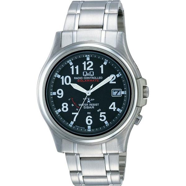 【CITIZEN】シチズン Q&Q 電波ソーラー メンズ腕時計HG00-205 SOLARMATE (ソーラーメイト) /5点入り(代引き不可)