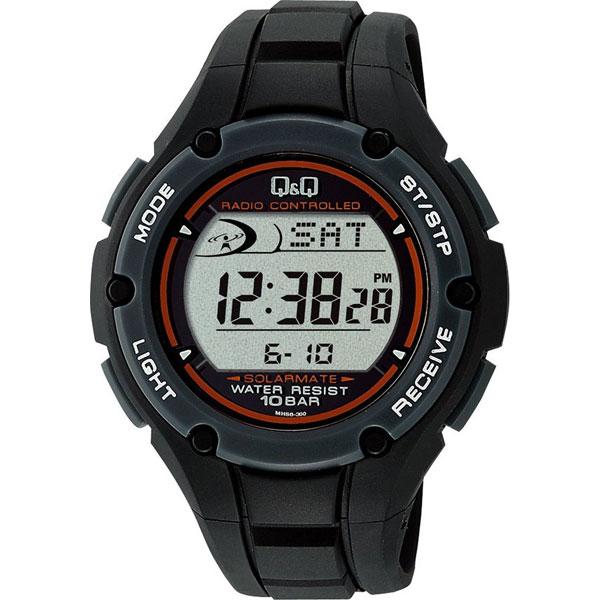 【CITIZEN】シチズン Q&Q 電波ソーラー メンズ腕時MHS6-300 SOLARMATE (ソーラーメイト) /5点入り(代引き不可)