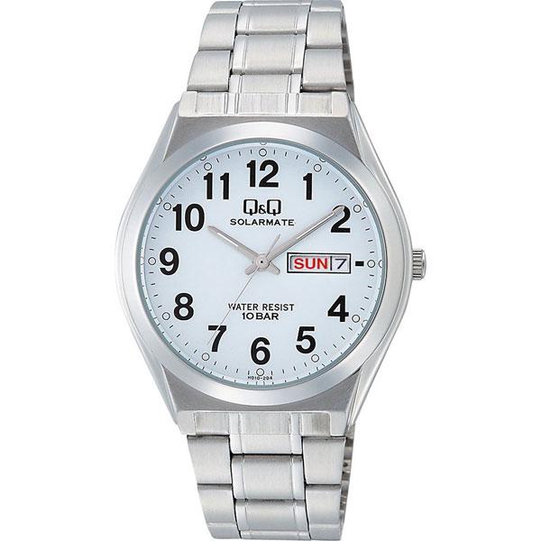 【CITIZEN】シチズン Q&Q ソーラー電源 メンズ腕時計H010-204 SOLARMATE (ソーラーメイト) /10点入り(代引き不可)