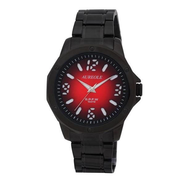 【AUREOLE】オレオール メンズ腕時計 SW-571M-7 アナログ表示 10気圧防水 /1点入り(代引き不可)