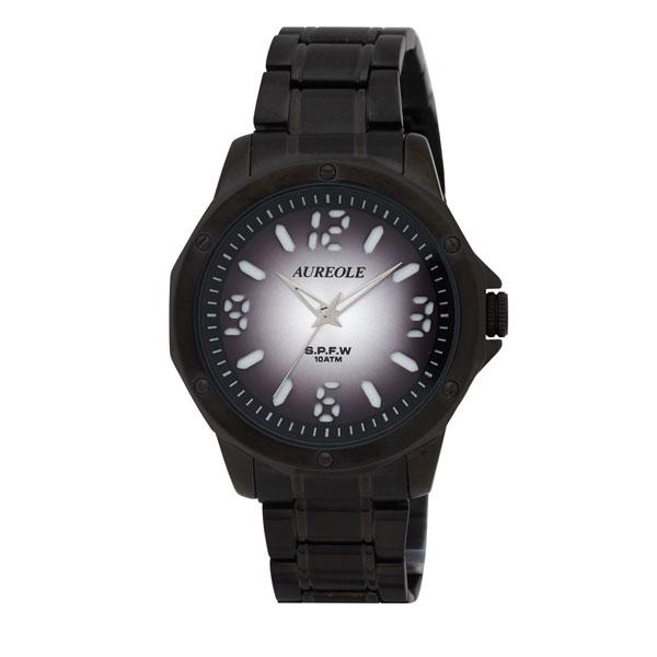 【AUREOLE】オレオール メンズ腕時計 SW-571M-8 アナログ表示 10気圧防水 /1点入り(代引き不可)