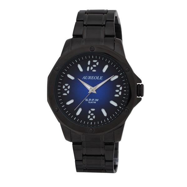 【AUREOLE】オレオール メンズ腕時計 SW-571M-9 アナログ表示 10気圧防水 /5点入り(代引き不可)