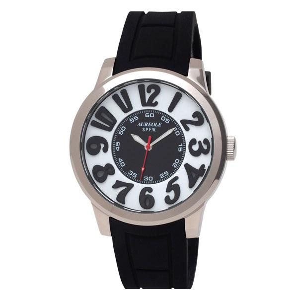 【AUREOLE】オレオール メンズ腕時計 SW-584M-1 アナログ表示 10気圧防水 /1点入り(代引き不可)