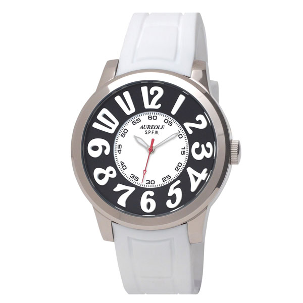 【AUREOLE】オレオール メンズ腕時計 SW-584M-3 アナログ表示 10気圧防水 /5点入り(代引き不可)