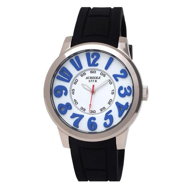 【AUREOLE】オレオール メンズ腕時計 SW-584M-4 アナログ表示 10気圧防水 /5点入り(代引き不可)