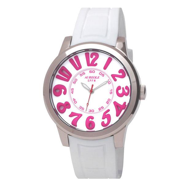 【AUREOLE】オレオール メンズ腕時計 SW-584M-5 アナログ表示 10気圧防水 /10点入り(代引き不可)