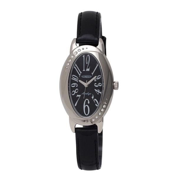 【AUREOLE】オレオール レディース腕時計 SW-583L-1 アナログ表示 ソーラー 日常生活用防水 /10点入り(代引き不可)